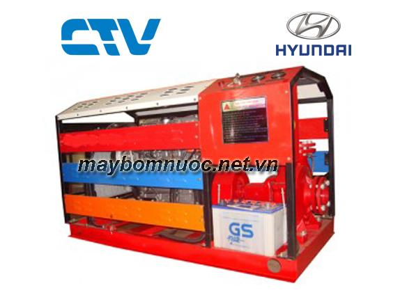 Máy bơm cứu hỏa Hyundai 50Hp