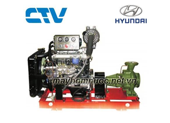 Máy bơm cứu hỏa Hyundai CA80